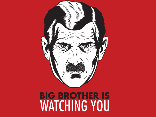 Big Brother Is Watching You Meaning